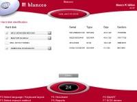 W wersji PC Edition Blancco umożliwia oczyszczenie do czterech dysków twardych jednocześnie. W wersji Server dysków tych może być aż 16