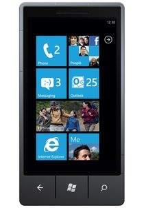 Ekran startowy Windows Phone 7