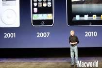 Przełomowe urządzenia mobilne Apple - iPod touch, iPhone, iPad.