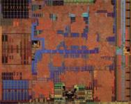 Ontario-Zacate – większą część układu zajmuje rdzeń grafi czny, ale nawet samo pisanie o podziale na GPU i CPU to w tym wypadku nadmierne uproszczenie.