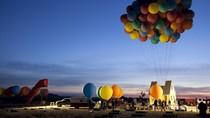 """Latający dom z filmu """"Odlot"""" w prawdziwym świecie wzniósł się na wysokość ponad 3 tysięcy metrów!"""