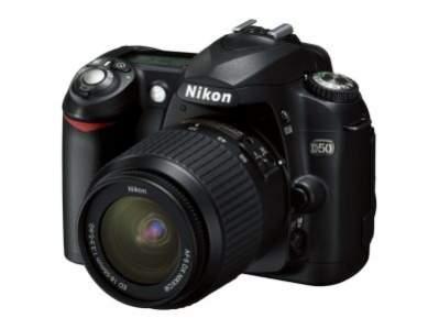 Nikon D50 - najlepsza lustrzanka dla niezaawansowanych