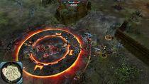Jedna z mocy Orków: bombardowanie kamieniami