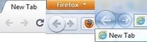 Google Chrome 10, Firefox 4 RC 1, Internet Explorer 9 - porównanie interfejsu.
