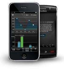 Cisco Global Internet Speed Test działa na nowszych modelach BlackBerry oraz na iPhonie