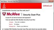 """Zbyt szybkie klikanie: """"Dalej"""" nie zawsze popłaca. Przekonali się o tym użytkownicy Windows, którzy wraz z aktualizacją Javy, dostali zbędny i denerwujący skaner McAfee."""