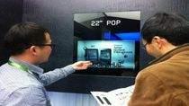 22-calowy przezroczysty wyświetlacz Samsunga