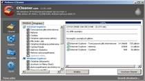 CCleaner 3.05 - narzędzie do optymalizacji systemu Windows. Program usuwa niepotrzebne i tymczasowe pliki z komputera.
