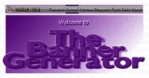Pod koniec lat 90-tych zapotrzebowanie na bannery było tak duże, że powstawały nawet specjalne aplikacje do ich tworzenia. Na obrazku: logo programu The Banner Generator.