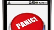 """Panic Button"" dla Androida (źródło: TechCrunch.com)"
