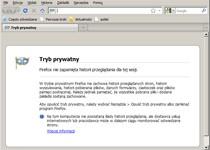 Przeglądarka w trybie prywatnym nie pozostawia po sobie żadnych śladów na dysku komputera. Ponadto omija protokół Google'a, nawet jeśli przedtem byłeś zalogowany na koncie tego serwisu.