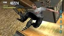 Zrzut ekranu z gry komputerowej Tony Hawk Pro Skater 1.