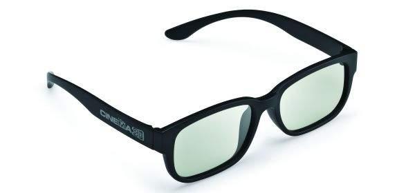 Okulary Cinema 3D