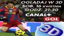 Real Madryt - FC Barcelona w 3D