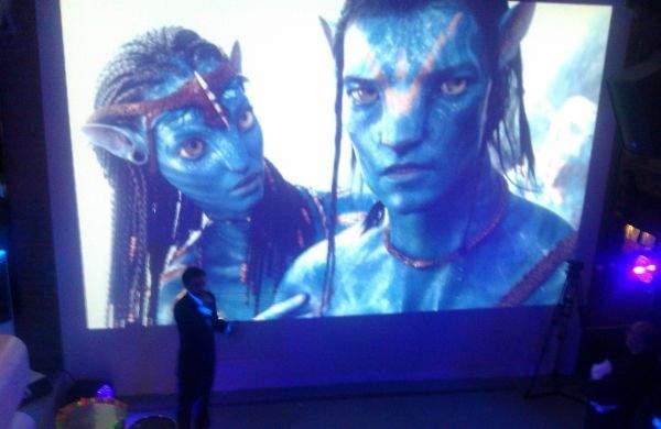 Avatar na pokazie Panasonika