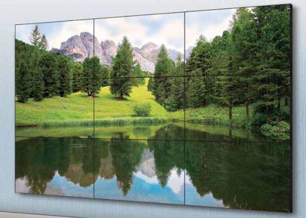 Ściana LCD Sharpa