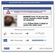 """""""Zakazane"""" wideo ze śmiercią bin Ladena (źródło: Sophos)"""
