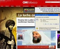 """Phishing """"na wideo w CNN"""" (źródło: Symantec)"""