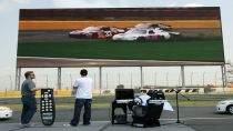 Ekran LED w Charlotte Motor Speedway