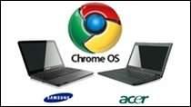 """Chromebooki firm Samsung i Acer to w rzeczywistości słabe netbooki, które Google opakowało w """"mit rewolucji""""."""
