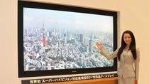 Ekran Sharpa z obrazem Super Hi-Vision
