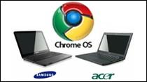 Pierwsze chromebooki firmy Samsung i Acer
