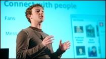 Mark Zuckerberg, współzałożyciel i prezes serwisu społecznościowego Facebook.