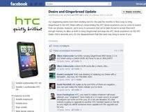 Informacja o braku aktualizacji HTC Desire do Androida Gingerbread nie wzbudziła entuzjazmu