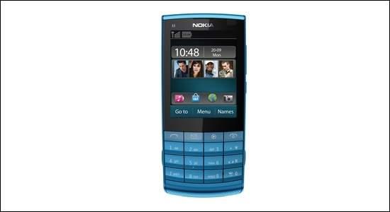 Nokia X3 Touch and Type to połączenie klasycznej klawiatury i nowoczesnego dotykowego ekranu. Pozwala na pisanie wiadomości na klawiaturze lub dotykając wyświetlacza.