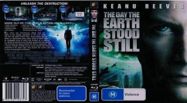 Dzień, w którym zatrzymała się Ziemia Blu-ray