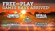 Steam oferuje na razie 5 gier free to play