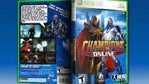 Champions Online - projekt potencjalnej okładki wykonany przez Defcon6