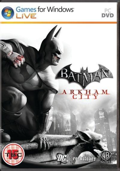 Batman: Arkham City - okładka na PC, niestety be Catwoman;-)