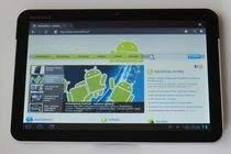 Przeglądarka jest jedną z najmocniejszych stron tabletu i Androida Honeycomb