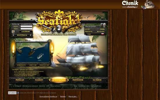 SeaFight. Zostań piratem i tocz bitwy morskie