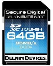 Szybka karta SDXC firmy Delkin