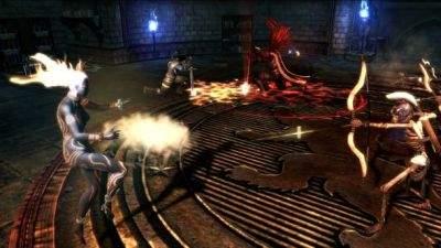 Walka w Dungeon Siege 3 jest momentami wybitnie wymagająca.