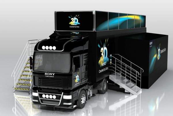 Sony Roadshow 3D