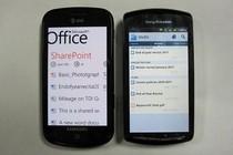 """Na """"komórkach""""... znów, Office 365 działa lepiej w WP7, Google Docs w Androidzie."""