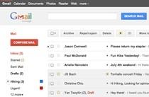 Gmail - nowy interfejs (skrzynka odbiorcza)