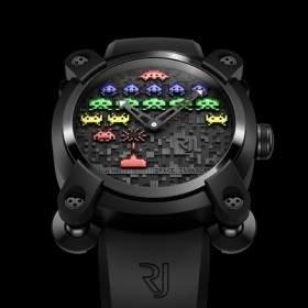 Space Invaders w zegarku