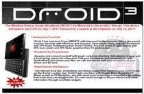 Informacje o Droid 3 już krążą w Sieci (źródło: droid-life.com)