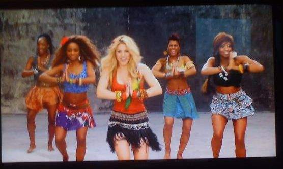 Shakira kolory