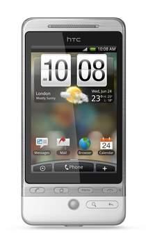 HTC Hero z interfejsem użytkownika Sense.