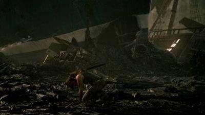 Lara Croft rozbija się u wybrzeży nieznanej sobie wyspy