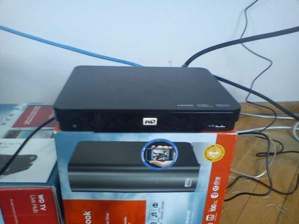 WD TV Live Hub (kable)