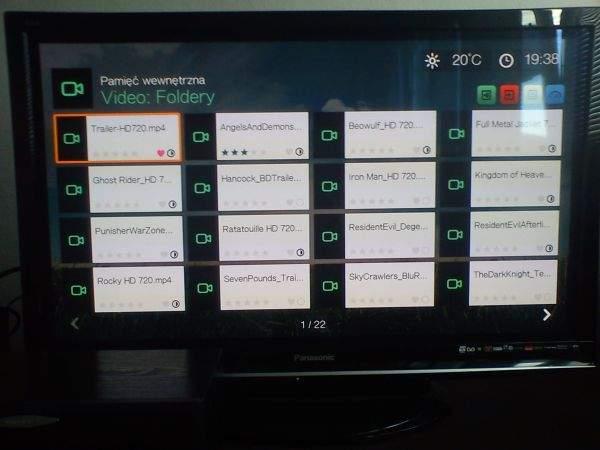 WD TV Live Hub (wideo)