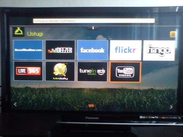 WD TV Live Hub (internet)