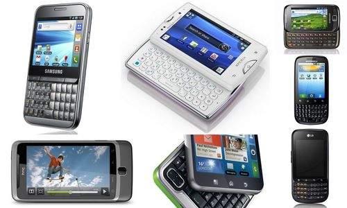 Tanie smartfony z QWERTY
