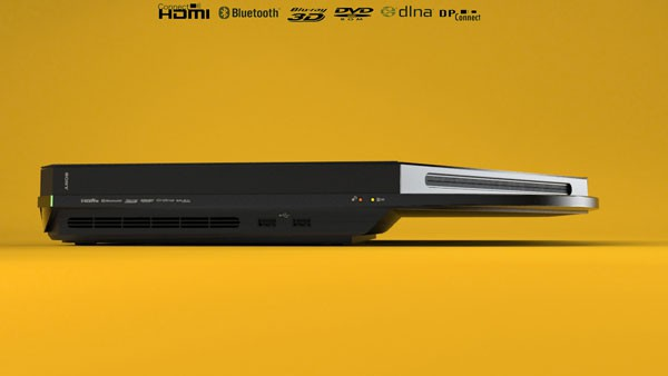 PS4 z boku